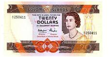 Solomon Islands  … P-12 … 20 Dollars … ND(1984) … ch*UNC*.
