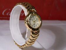 Women's Vintage Sergio Valente Golden Watch. Fresh New Battery. 2 Year Warranty!