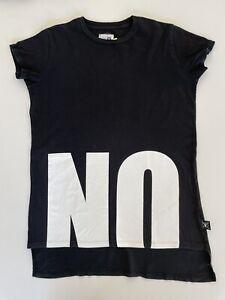"NUNUNU 12-14 ""NO"" T'Shirt, Black"