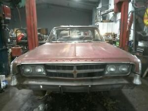 Driver Quarter Glass Fury 2 Door HT Notch Roof Fits 65-68 PLYMOUTH PASS. 93377