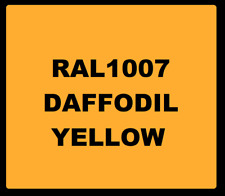 Cellulose Car Body Classic Vintage Paint RAL1007 Daffodil YELLOW 1L Gloss