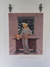Maxfield Parrish Knave of Hearts Lady Violetta Tarts Vintage Litho Print
