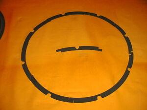 quality speaker gasket Lautsprecher Distanz Ring Dichtung 12 zoll 30 cm GA 12