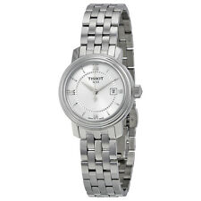 Tissot Bridgeport Quartz Silver Dial Silver Stainless Steel Ladies Watch
