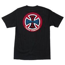 Independent Trucks Suspension Sketch Skateboard T Shirt Black w/Red Large