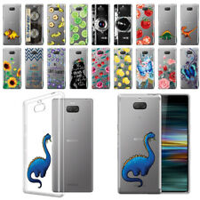 "For Sony Xperia 10 Plus/ 10+ 6.5"" Ultra Thin Clear TPU Silicone Case Phone Cover"