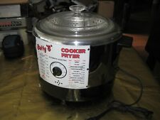 Vtg Betty G  Automatic Electric Cooker  Deep Fryer  NOS w Box Instructions