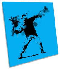 Banksy Blue Art Prints