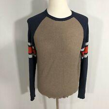 Union Bay Men Long Sleeve Pullover Sweater Top Size Medium 100% Cotton - C172
