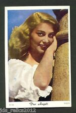 1960's Dutch Gum Card K Large #10 PIER ANGELI  Somebody Up There Likes Me TERESA