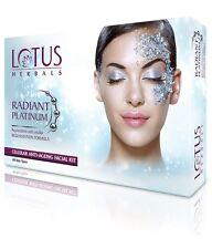 Lotus Herbals Radiant Platinum Cellular Anti-Ageing 1 Facial Kit, 37gm