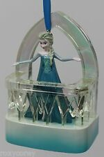 "Disney Store 2014 Frozen Elsa ""Singing Let it Go"" Sketchbook Christmas Ornament"