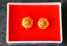 Indian gold plated stud earring traditional indian ethnic gold earrings