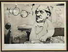 """Charles Bragg """"Surgeon"""" Signed & Numbered Framed Art Etching #1/150, Doctor"""
