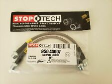Stoptech Stainless Steel Braided FRONT Brake Lines Kit Lexus GX470 03-09 New