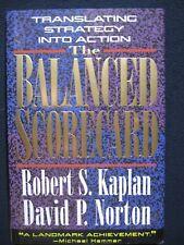 The Balanced Scorecard: Translating Strategy into Action [Hardcover] Kaplan, R..