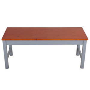 3FT Long Kitchen Dining Table Bench Seat Hallway Garden Patio Stool 2 Seater