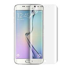2 Films protection écran TPU plastique anti petits chocs pour Samsung S7 Edge