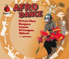 THE WORLD OF AFRO DANCE - VARIOUS ARTISTS / 2 CD-SET (ZYX MUSIC 1999)
