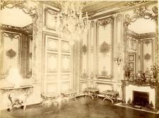 France, Versailles, Cabinet Louis XV Vintage Albumen Print Tirage albuminé