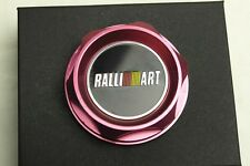 1Pcs Car Luxury Red Ralli Art Racing Oil Filler Cap Fuel Tank Cover Aluminum