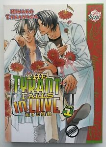 The Tyrant Falls in Love Vol 1 TPB Yaoi Manga Hinako Takanaga
