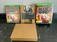 xbox one ROCK BAND 4 WITH LEGACY GAME CONTROLLER ADAPTER New & Sealed Microsoft