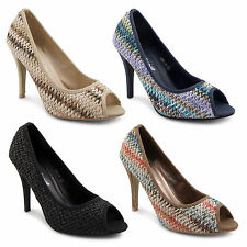 High Heel (3-4.5 in.) Unbranded Evening Shoes for Women