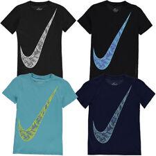 NIKE Kinder T-Shirt Swoosh Palm Shirt Fitness Sport Tee neu