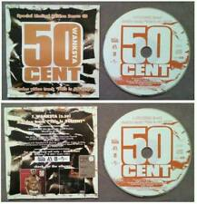 CD Singolo Single 50 Cent Wanksta CARDSLEEVE 2003 rap hip hop no lp mc dvd (S1)