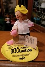 Signed by The Thorndikes Annalee Doll Mobilitee Ice Cream Kid Logo *Rare*