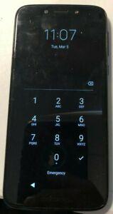 [BROKEN] Motorola Moto G7 XT1952-2 (Tracfone) 32GB Black Good Used PIN LOCK