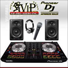Pioneer DDJ-SB3 DJ Controller + DM40 Monitors + Numark HF125 Headphones + SV100W