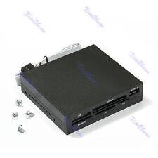 3.5 inch USB SD MMC XD TF Card Reader Internal MS CF MD