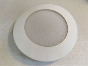 Halo Recessed 6-in Light Trim Frosted Trim White Air-Tite 70PS Glass