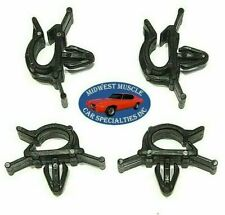 GM GMC Battery Cable Headlight Dash Horn Wiring Harness Hose Clamp Clips 4pcs H