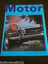 MOTOR MAGAZINE - AMERICAN STOCK RACING CARS - JULY 29 1967