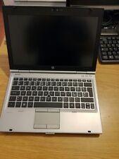 """Notebook HP 2560p i5 ° Generazione 4Gb 320Gb 14.1"""" WIN 7 PRO usato DVD RW LEGGI"""