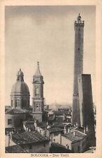 B105472 Italy Bologna Due Torri Towers Panorama