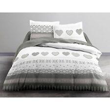 Linge de lit et ensembles gris avec des motifs Fantaisie en 100% coton
