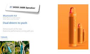 Doss BT1688 Bluetooth Outdoor(Shockproof/Dustproof/Waterproof)Speakers,ROD shape