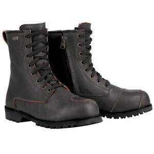 Oxford Merton Boots - Black