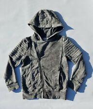 H&M Gray Kids Hoody Jacket Size 6/7