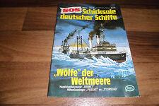 SOS # 75 -- WÖLFE der WELTMEERE // KOMET+Hilfsminenleger PASSAT ex STORSTAD 1978