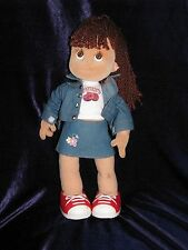 The Play Along Club Zoe Madison Doll 13 inches Tall Mel Brinkrant Baby Face