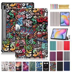 For Samsung Galaxy Tab S7/S7Plus 2020 Leather Slim Luxury Stand Folio Case Cover