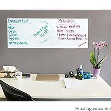 """Liger Electronics Sticky Back Wall 6' x 18"""" Whiteboard Decal, Marker Included"""