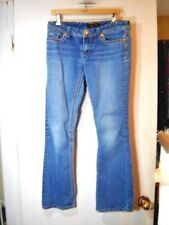Size 8 33 X 31  7 Seven For All Mankind  Jeans Flare Leg Denim Pants Stretch