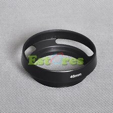 46mm Metal Lens Hood For Panasonic 20mm f/1.7 14mm 2.5