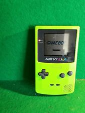 Nintendo Gameboy Color Lime Green